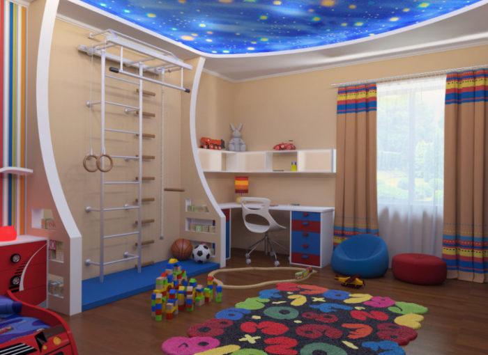 дитячі кімнати дизайн для хлопчиків фото